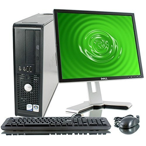 Dell Optiplex 755 SFF Desktop Wifi Pc Bundle - Intel Core 2 Duo @ 3.0ghz - 4gb RAM - 250gb HDD - Windows 7 Pro 64bit - With 17