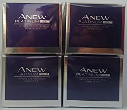 4 X Avon Anew Platinum Night Cream 50ml - 1.7oz Set !