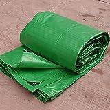 Plastic PE awning cloth rain cloth waterproof sunscreen shading insulation tarpaulin (Size : 6m*8m)