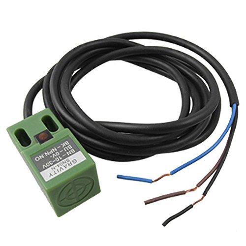 Sensore dell'interruttore - SODIAL(R) SN04-N Sensore dell'interruttore di prossimita' di 10-30V DC a 3 fili NPN di 4mm.