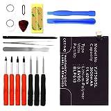 Cellonic Premium Akku für OnePlus 3 (3000mAh) inkl. Werkzeug-Set BLP613 Ersatzakku Batterie Wechselakku