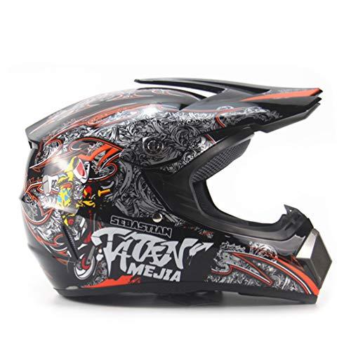 Qianliuk-Casco-da-Moto-per-Adulti-Motocross-Casco-ATV-Bici-Downhill-Racing-Casco-Cross