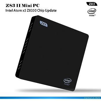 Beelink Z83 II Mini PC Intel Atom X5-Z8350 Processor 64-bit DDR3 2GB System Disk 32GB Intel HD Graphics WiFi 5.8G+2.4G Mini Computer