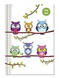 Collegetimer Owls 2018/2019 - Schülerkalender A5 - Weekly - 224 Seiten