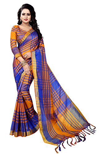 87ef022bf7 Vrati Fashion Cotton Silk Saree With Blouse Piece (women Saree-ekkat-01-