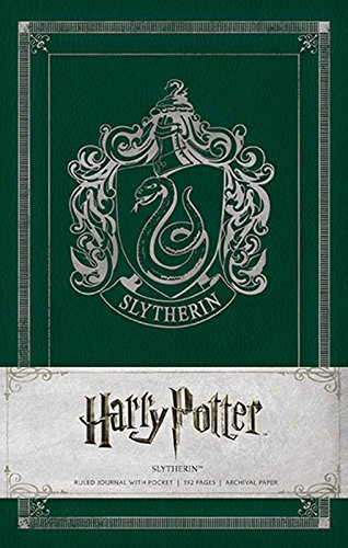 Harry Potter Slytherin Hardcover Ruled Journal (Harry Potter Journals)