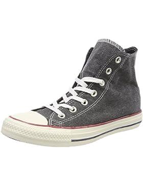 Converse Unisex-Erwachsene CTAS Hi Black/White Hohe Sneaker