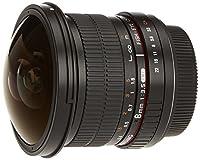 L'objectif photo SAMYANG fisheye 8 mm f/3.5 UMC CS II monture CANON  offre un angle de vue exceptionnellement large (jusqu'à 180 degrés en diagonale)  ce qui en fait un outil très utile pour faire des photographies panoramiques et  pour filmer des sc...