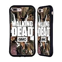 Officiel AMC The Walking Dead Groupe Logo Étui Coque Hybride pour Apple iPhone 7 Plus