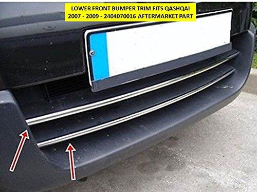 omtec parte inferiore paraurti anteriore Trim per Qashqai 2007-2009-Aftermarket