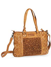 Greenland Femi & Nine Ladies Bag Sac à main cuir 42 cm