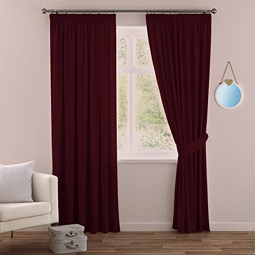 Red Bedroom Curtains: Amazon.co.uk