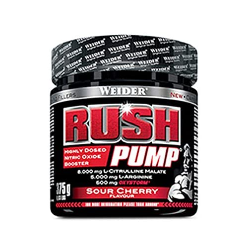 51uH9m3jV9L. SS500  - Weider Rush Pump, Sour Cherry - 375g