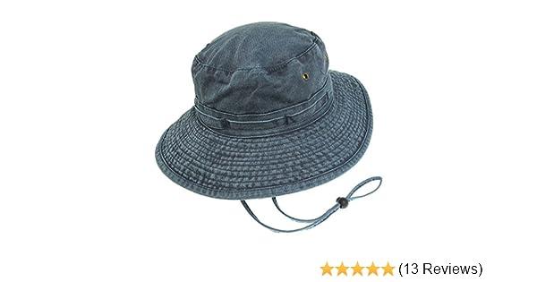 Village Hats Packable Cotton Bucket Hat Khaki