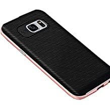 Coque Samsung Galaxy S6/S6 edge/s6 edge plus Wouier® 2 en 1 Bumper PC Anti-Chocs et TPU silicone doux Antiglisse Anti-rayure cover pour Galaxy S7/S7 edge