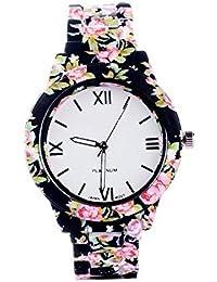 Lala's Enterprise Presents Analogue White Dial Women's Watch-Moria-Black-Y30 | Fashion Wrist Watch | Women Watch