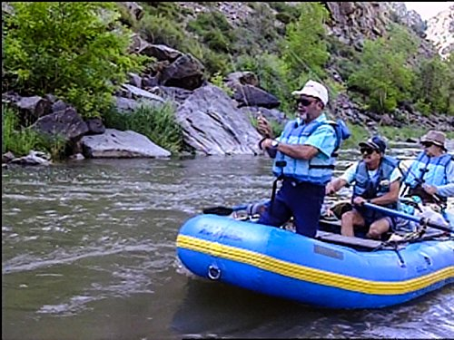 Drift fishing the Gunnison River part 2 -
