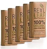 5 x Bio-Kräuter-Natur Rauchen Mischung insgesamt 150g 100% Nikotin und Tabak frei, reich, Aromatisch , feines Aroma und fließenden, natürlichen Geschmack Real Leaf Tabakersatz
