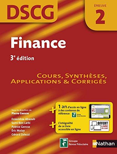 Finance - DSCG 2