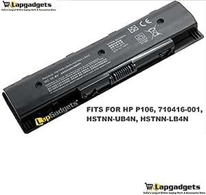 Lap Gadgets Laptop Battery For HP Envy 15-J048TX 6 cell PN: HSTNN-LB4N HSTNN-LB4O HSTNN-YB4N HSTNN-YB4O P106 PI09