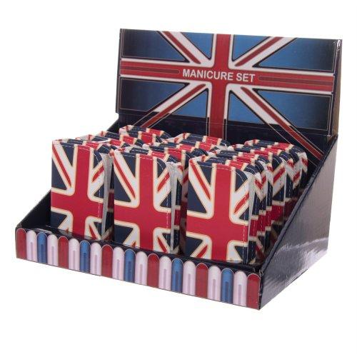LONDON Présentoir de 12 kits manucure