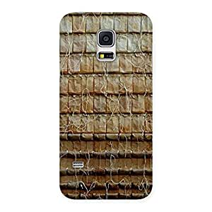 Cute Wall Back Case Cover for Galaxy S5 Mini