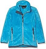 CMP Mädchen Fleece Jacke Highloft, Blue Jewel, 140