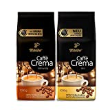 Tchibo Sortenmix Caffè Crema Mild und Vollmundig ganze Bohne, 2 kg (2 x 1 kg)