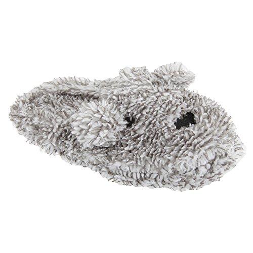 Pantofole effetto screziato - Donna Grigio screziato