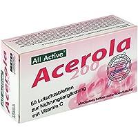 ACEROLA 200 All Active Lutschtabletten 60 St Lutschtabletten preisvergleich bei billige-tabletten.eu