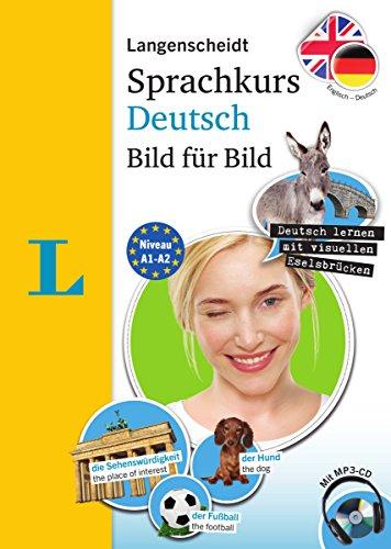 Langenscheidt Sprachkurs Deutsch Bild für Bild - Der visuelle Kurs für den leichten Einstieg mit Buch und einer MP3-CD: Englisch - Deutsch (Langenscheidt Sprachkurs Bild für Bild)
