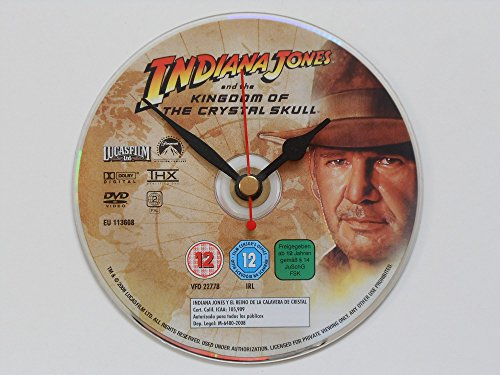 Indiana Jones And The Kingdom Of The Crystal Skull Dvd Wall Clock Picture