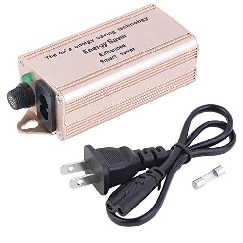 luxtech Power Save Energy Saver Box sparen von Störung von Smart Saver Haus Schutz gegen die Blitzschlag von Elektrische Sicherheit für das Energiesparend Power Europe Energietechnologien sparen maximale Belastung von 30000W + Stecker USA