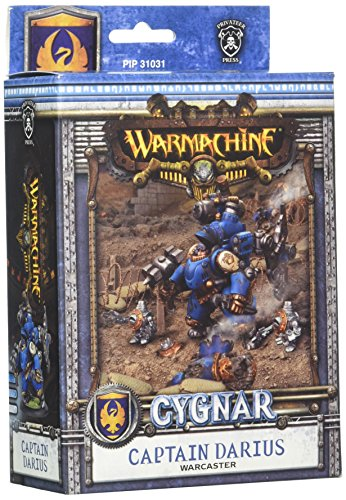 Privateer Press Kriegsmaschine zu bekommen: Cygnar Captain Dominic Darius Model Kit (Privateer Press Kräfte)