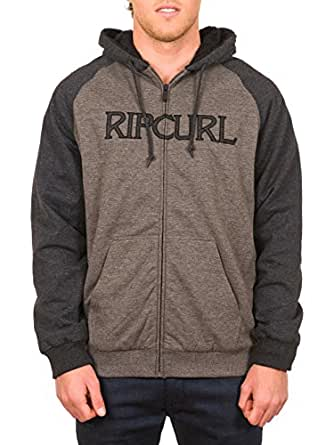 Rip Curl Men's Track Jacket grey Gunmetal Size:XXL