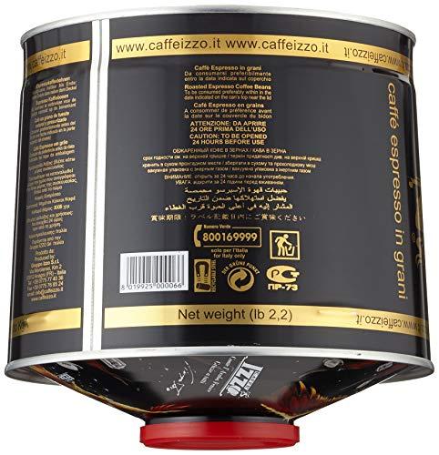 Izzo Caffé Izzo Espresso 100% Arabica Bohnen, 1er Pack (1 x 1 kg) - 2