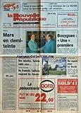 NOUVELLE REPUBLIQUE (LA) [No 12930] du 16/04/1987 - TF1 / FRANCIS BOUYGUES UNE PREMIERE - UN PAS PAR TARIBO - GORBATCHEV A SHULTZ / DES MISSILES - FAISONS TABLE RASE - FLECHE WALLONE / LECLERCQ SURPREND LES FAVORIS -