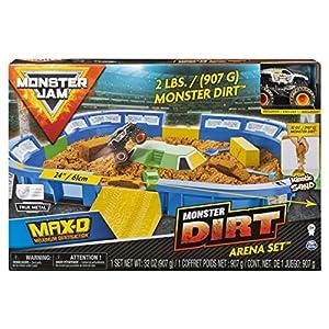 Spin Master Monster Jam 1:64 Dirt Arena Playset - Sets de Juguetes (Coche y Carreras, 3 año(s), Niño, Interior y Exterior, Multicolor, 1:64)