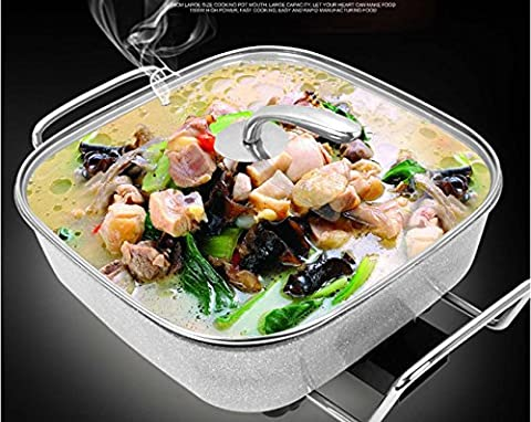 Maifanshi Pot de quartet Pot multifonctionnel pot électrique Pot de santé Wok électrique Frein à vapeur électrique , white