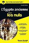 L'Egypte ancienne pour les Nuls poche, 2e édition par Maruéjol