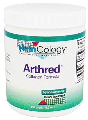 Arthred Collagen Formula Powder 240 Grams by Nutricology
