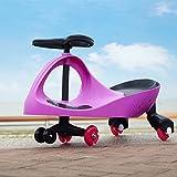 Coche correpasillos Scooter, Ruedas de poliuretano, 3 Patinete de rueda para niños entre 2 y 7 años, para Bicicleta sin pedales para niños [Rosa]