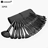 Vander kabuki 32Pcs ausgezeichneteLB Kosmetik Pinsel Set Kit make-up pinsel brush set + Beutel-Beutel