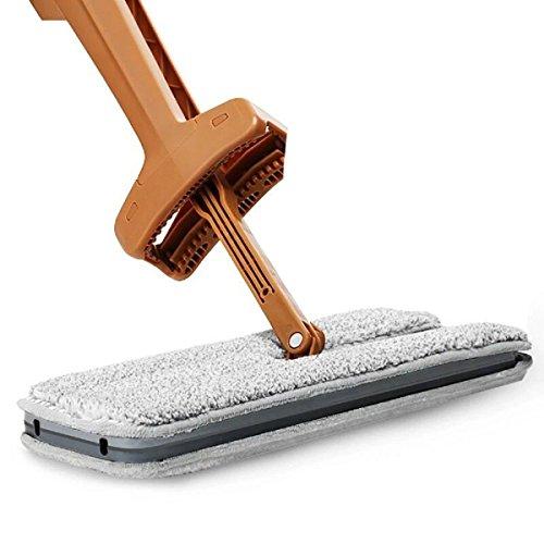 GAOJIAN Selbstwringender doppelseitiger flacher Mop Bequemer Handgriff 360 Umdrehung Mop-Reinigungs-Werkzeug