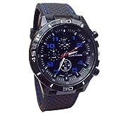 cinnamou Armbanduhr, Herren Uhren, Sport Armbanduhr Edelstahl schwarz klassischen Casual Uhren schwarz