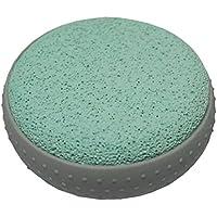 Bimsstein Massagestein Hornhautentfernung Fussmassage Fußpflege rund 80mm grün (0040) preisvergleich bei billige-tabletten.eu