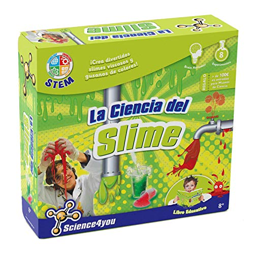 Science4you La Ciencia Viscosa del Slime - Juguete educativo y científico