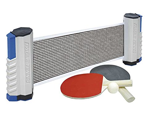 Tachan Red de ping pong ajustable con palas y pelota (CPA Toy Group 20130)