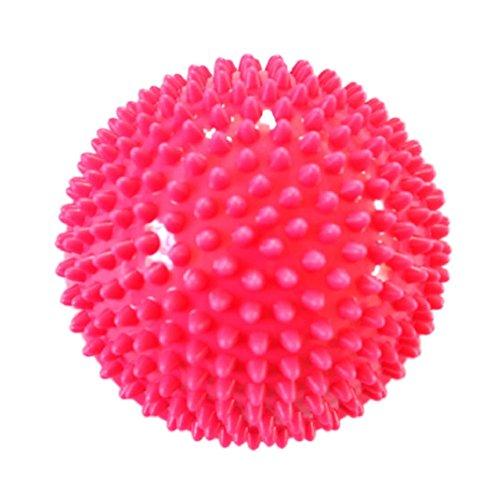 Culater Massage Ball,15X10cm Yoga Trigger Punkt Körper Füße Sohle Muskel Fitness Ball (Rosa)