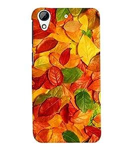 MakeMyCase color leaves case For HTC 728